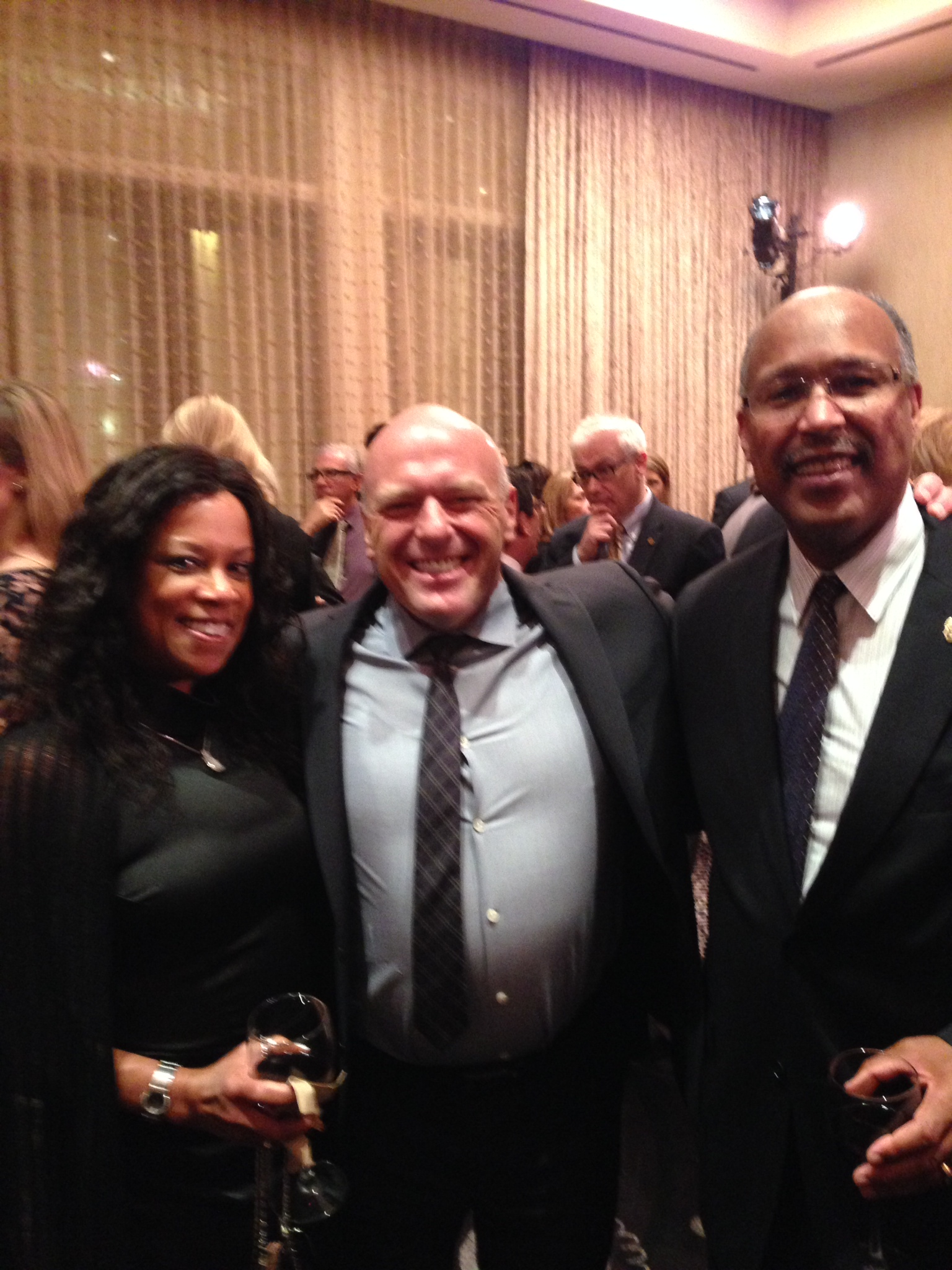 Terry and Marie Parham with Breaking Bad Star - Dean Norris (played ASAC Hank Schrader)